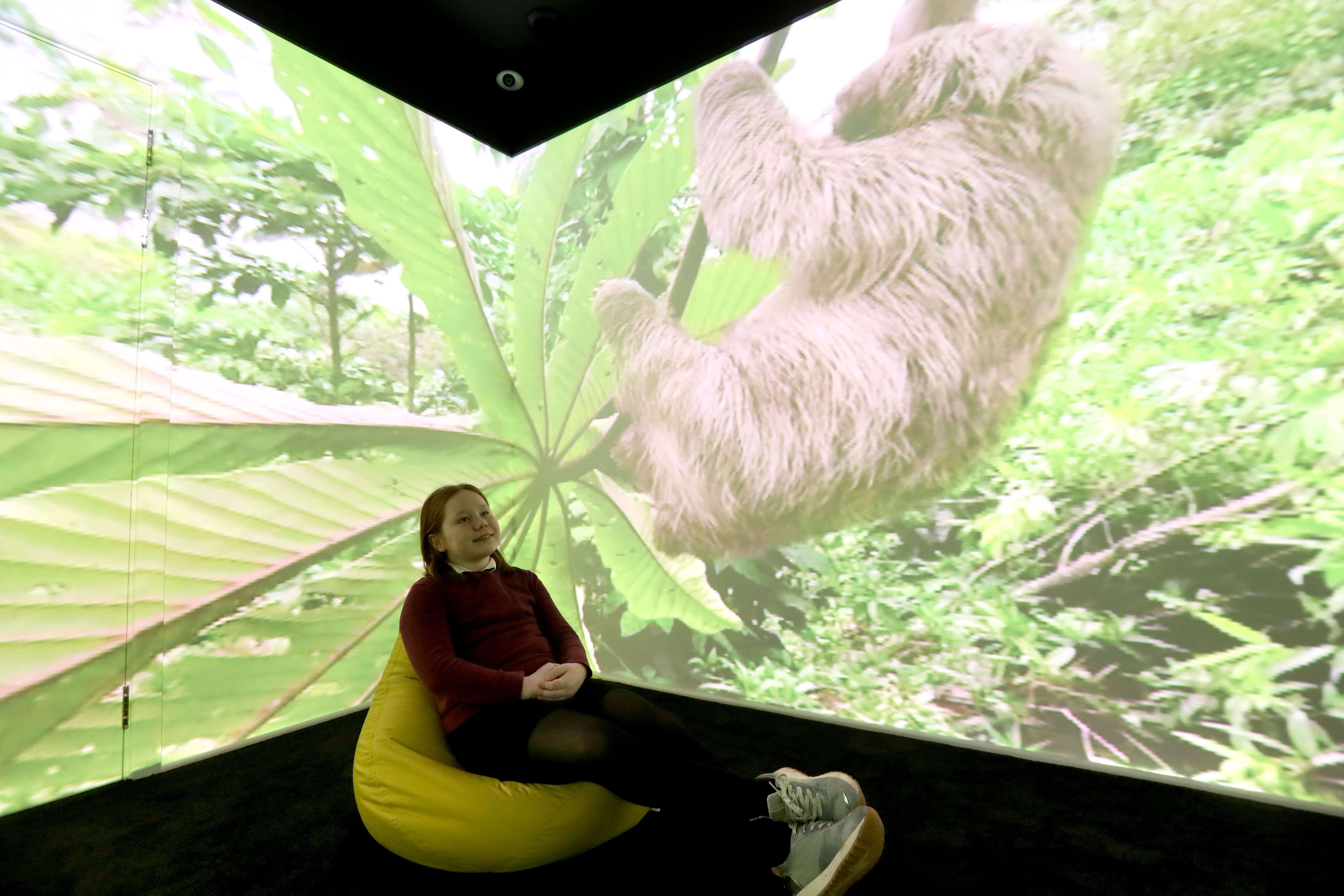 5G helps pupils explore rainforests, art galleries and outer space