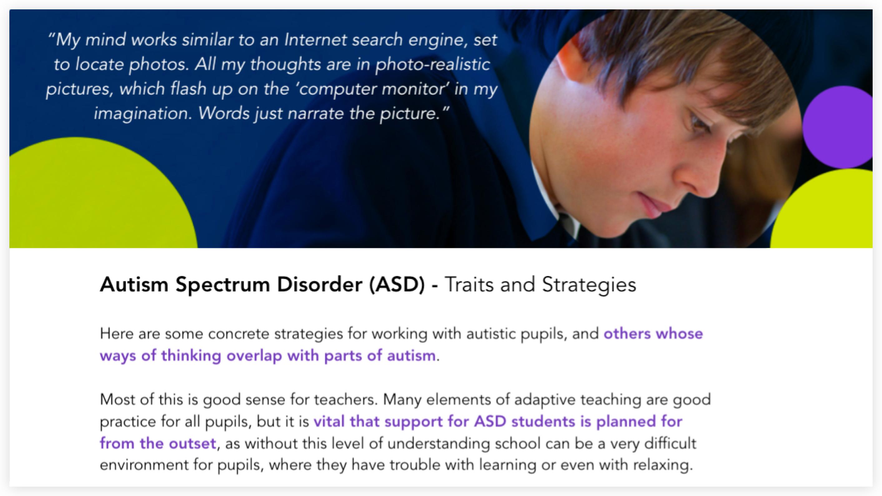 Autism Spectrum Disorder (ASD) image