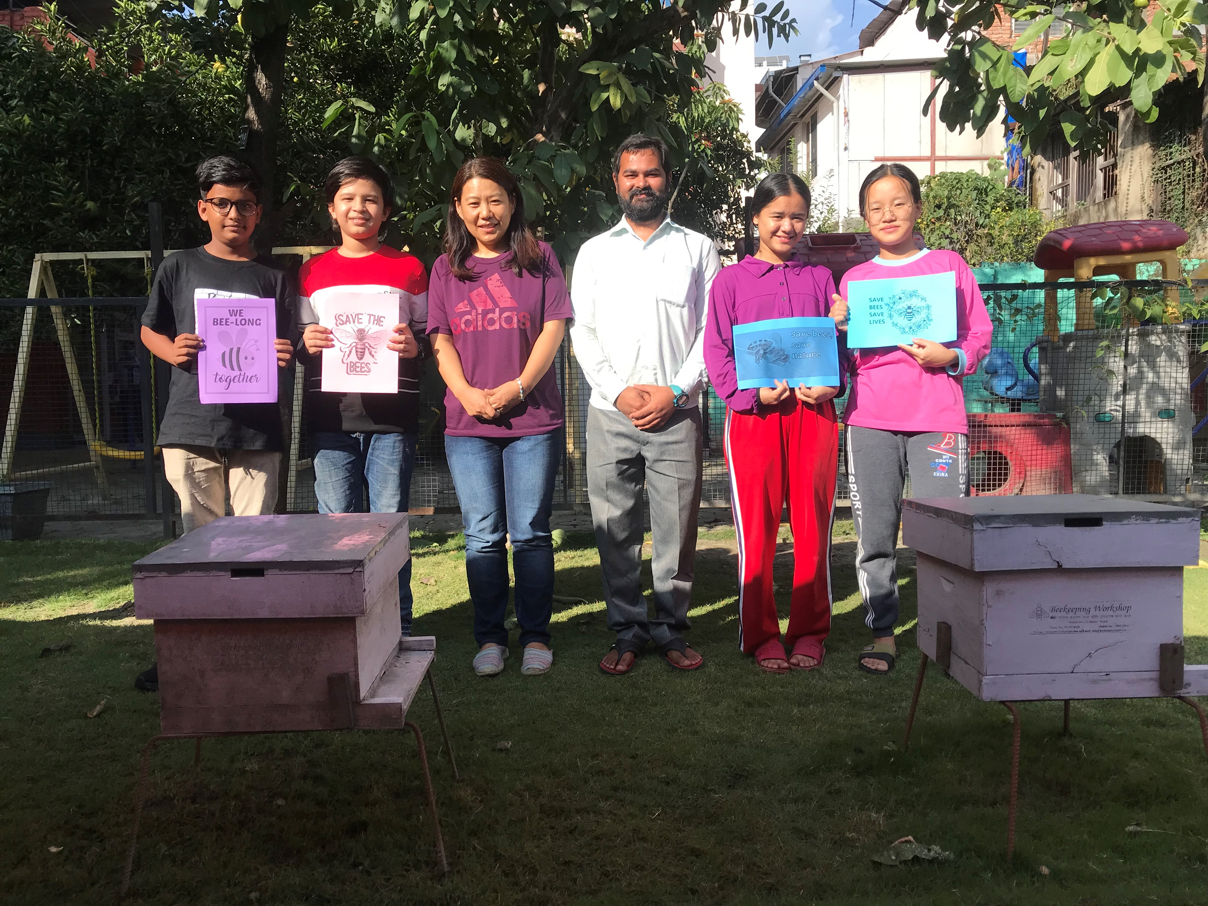 using bees to teach about climate change