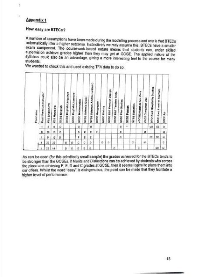 The Gorse Academies document.