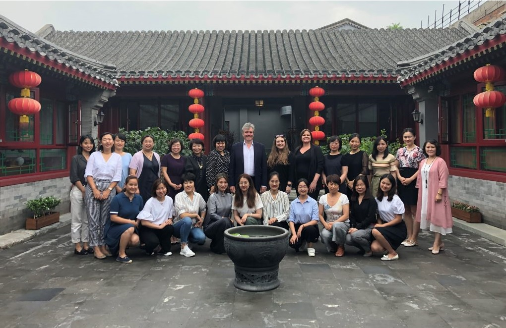Neil Carmichael in China