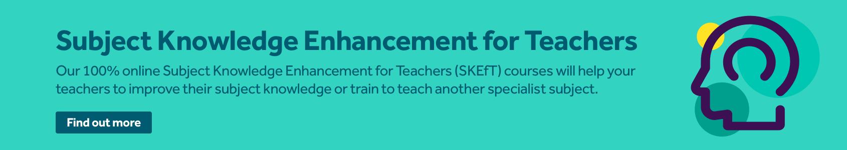 Tes Subject Knowledge Enhancement for teachers