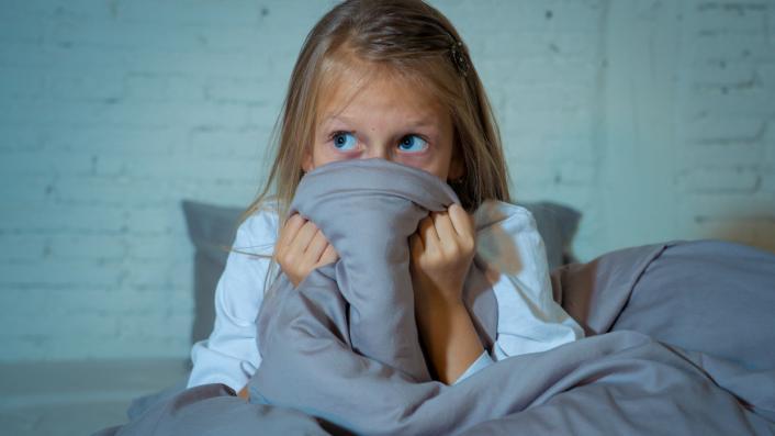 Scared child Coronavirus