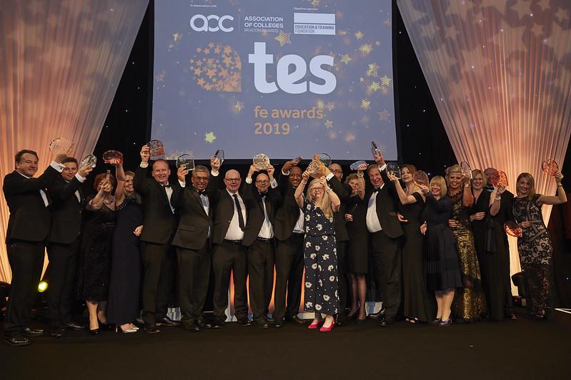 Tes FE Awards winners