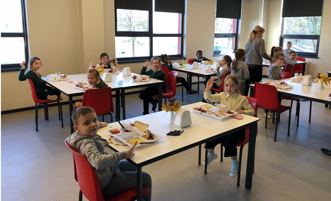 Canteen at lunchtime