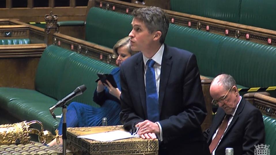 Coronavirus and schools: Gavin Williamson has been accused of taking a 'cheap shot' at Scottish education