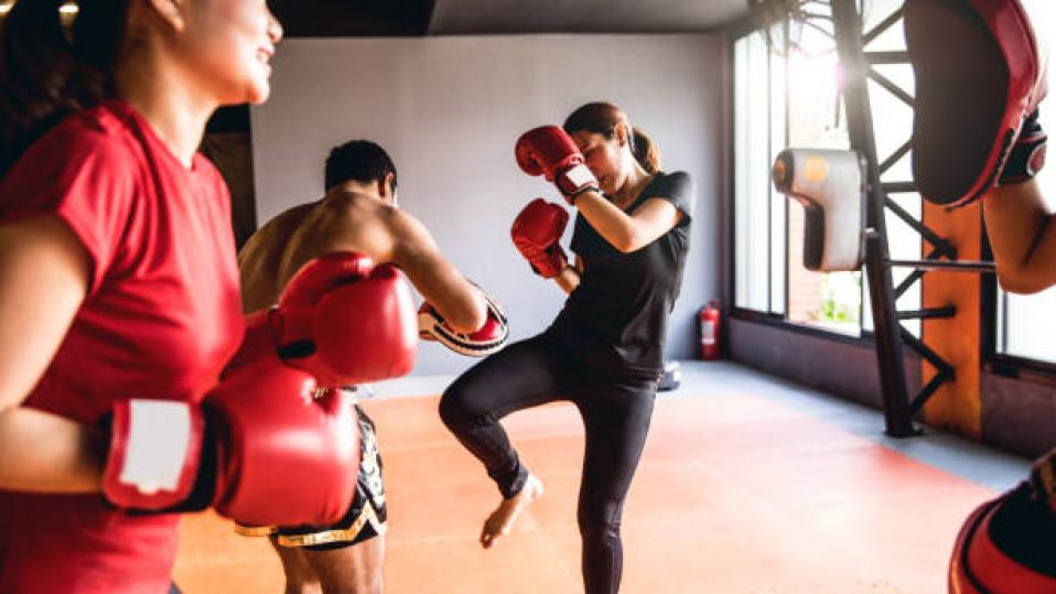 Teacher wellbeing: A former world champion Thai boxer is coaching teachers to 'think like athletes' to cope with the stress of teaching during the coronavirus lockdown