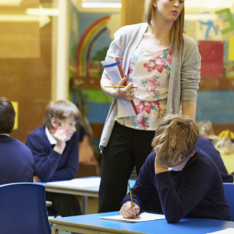 Turning a failing school around generally takes three to five years, says Sir David Carter