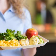 Number of pupils receiving free school meals triples