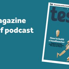 Tes magazine cover May 14