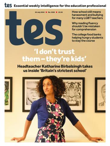 Tes - 20 July 2018 cover image