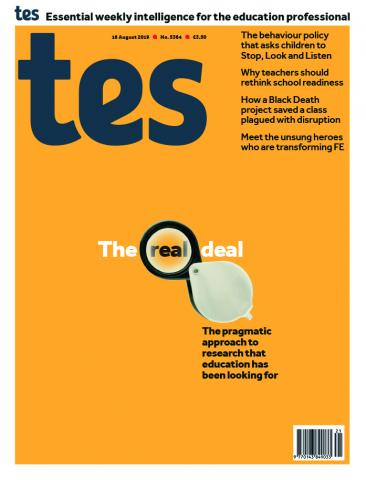 Tes England cover 16/08/19