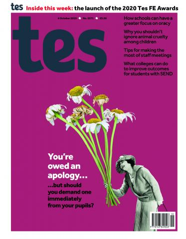 Tes issue 4 October 2019
