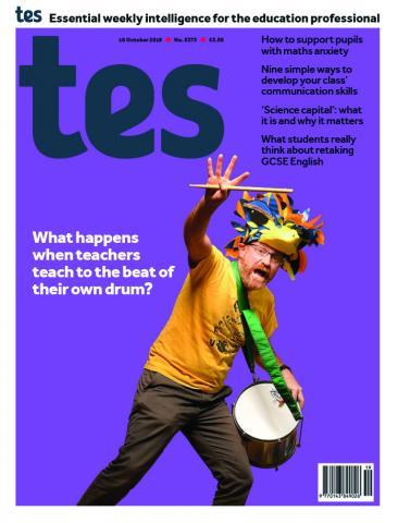 Tes England cover 18/10/19