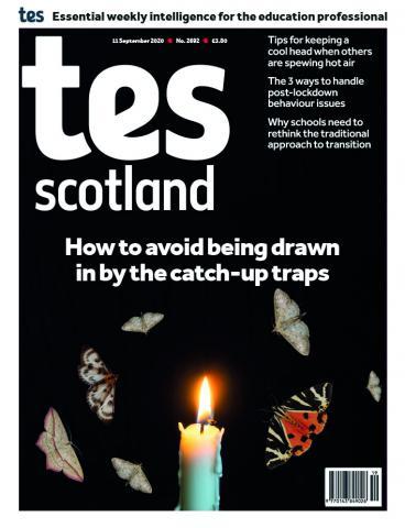 Tes Scotland cover 11/09/20