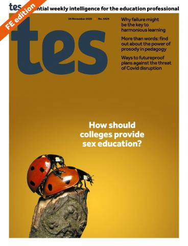 Tes FE cover 20/11/20