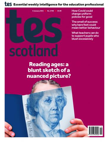 Tes Scotland cover 08/01/21