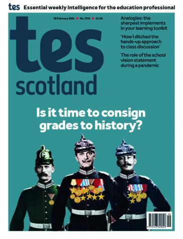 Tes Scotland cover 26/02/21