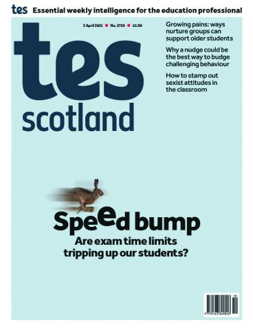 Tes Scotland cover 02/04/21