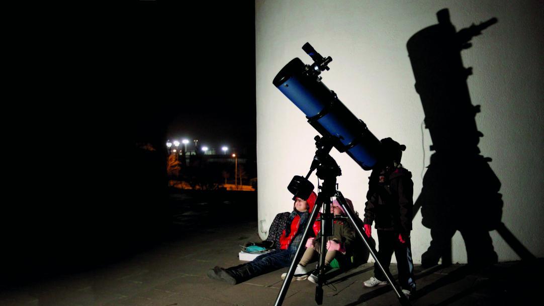 big telescope
