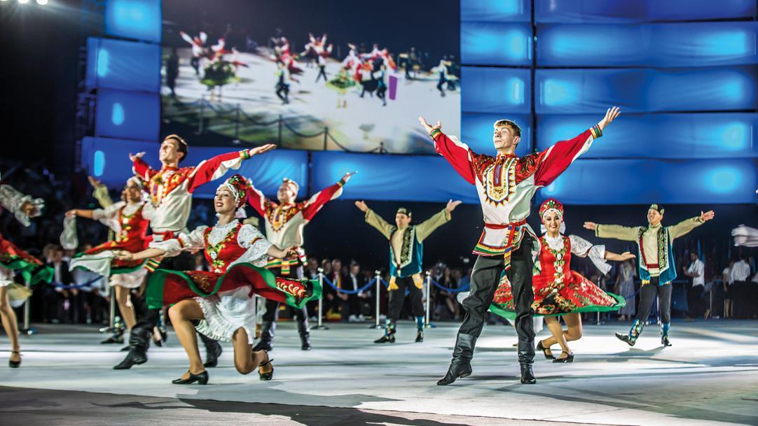 WorldSkills Kazan live: watch the opening ceremony here