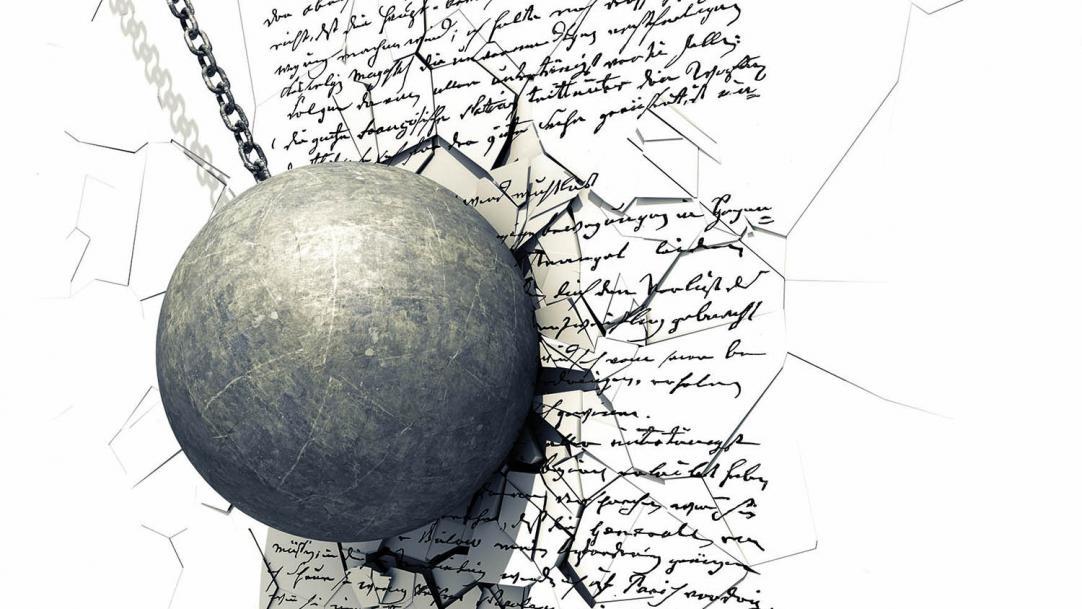 Don't demolish handwriting