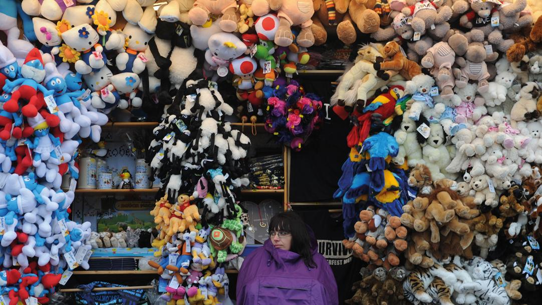 Learning with children's toys stacks up