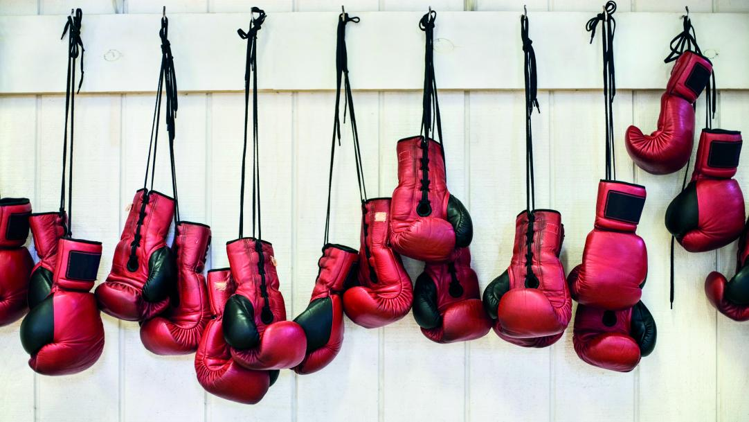 Boxing club for vulnerable pupils