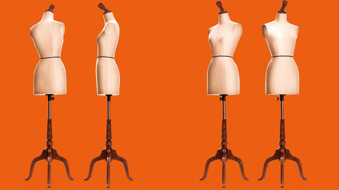 Dress form mannequins - tailor-made exams mocks resits