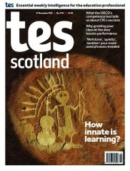 Tes Scotland cover 27/11/20