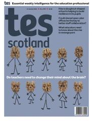 Tes Scotland cover 15/01/21