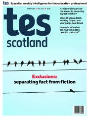 Tes Scotland cover 23/04/21