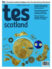 Tes Scotland cover 09/04/21