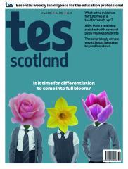 Tes Scotland cover 16/04/21