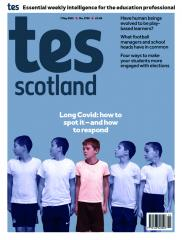 Tes Scotland cover 07/05/21