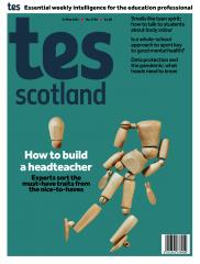 Tes Scotland cover 14/05/21
