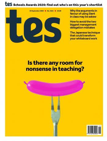 Tes issue 25 September 2020