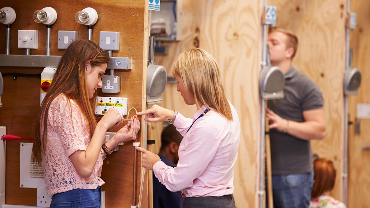 Apprenticeship starts continue to fall one year on from the introduction of the levy