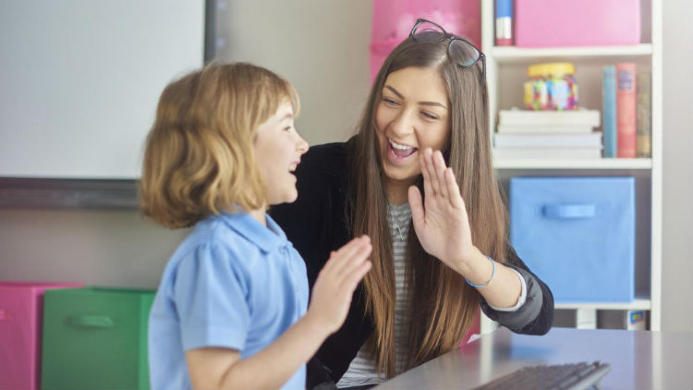 A Supply Teacher & Child