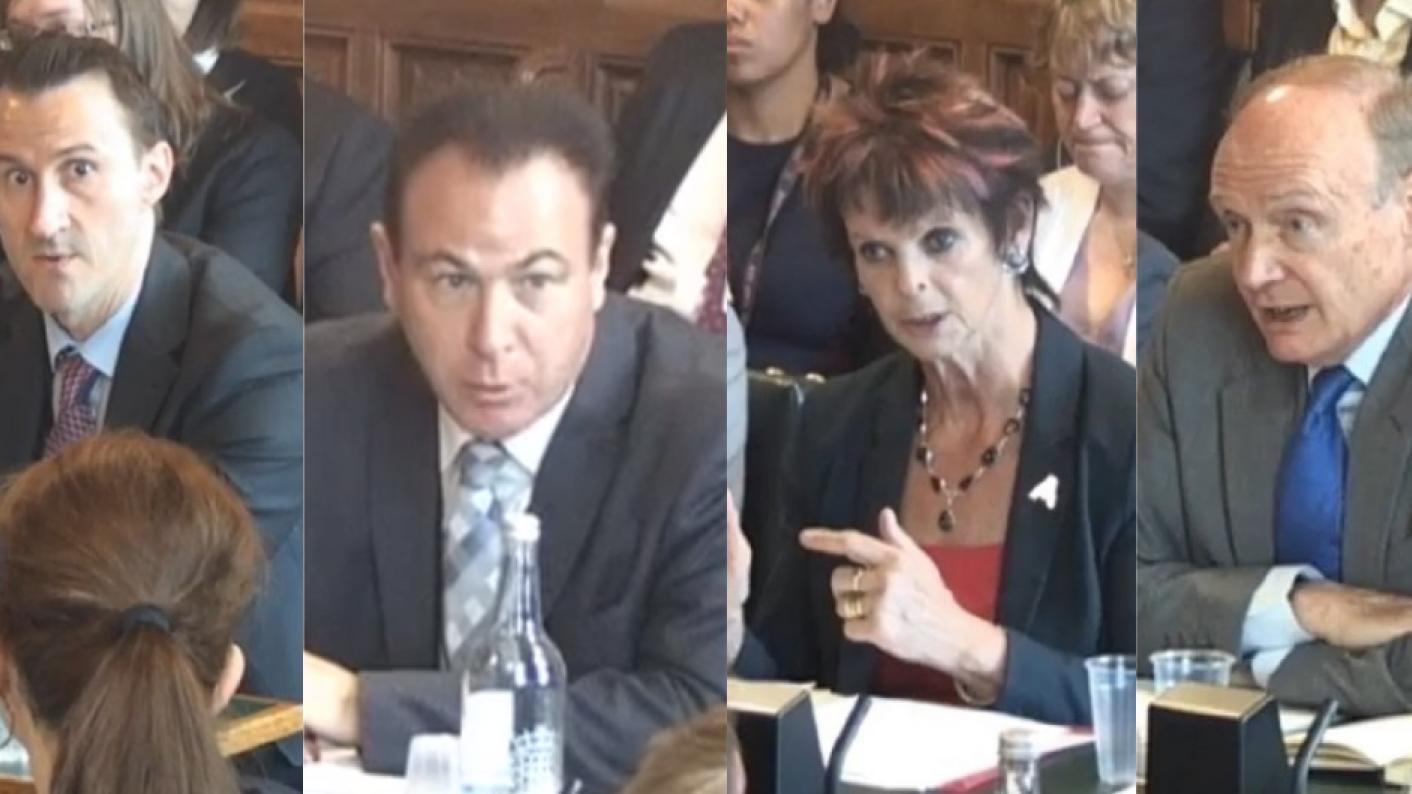 Keith Smith, Paul Joyce, Anne Milton and Sir Gerry Berragan spoke to the Commons Education Select Committee