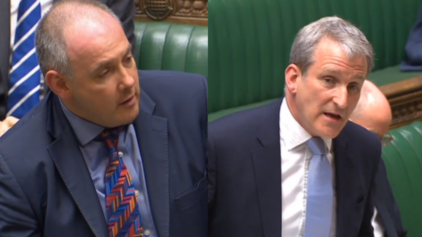 Damian Hinds refused to answer a question from Robert Halfon about apprentice travel discounts