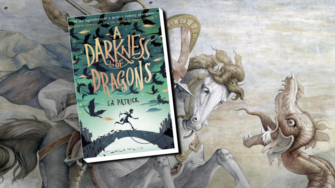 The class book review: A Darkness of Dragons