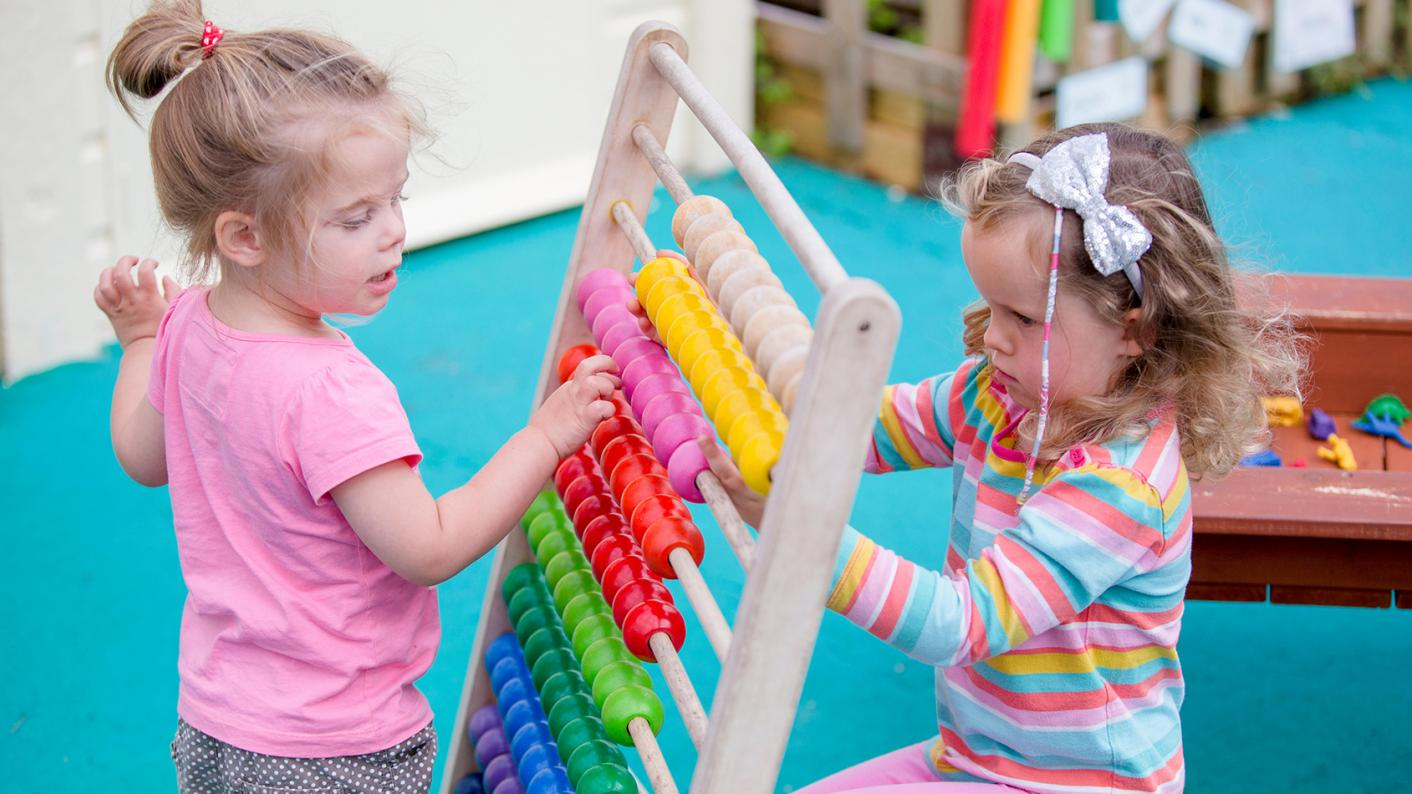 early years children playing