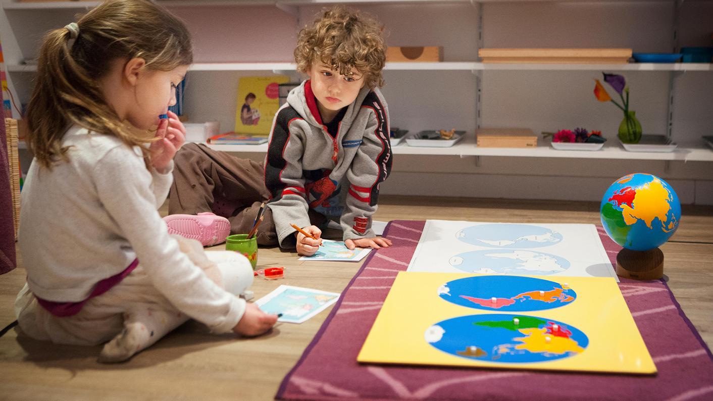 Around 100,000 children under five do not practice learning before starting school