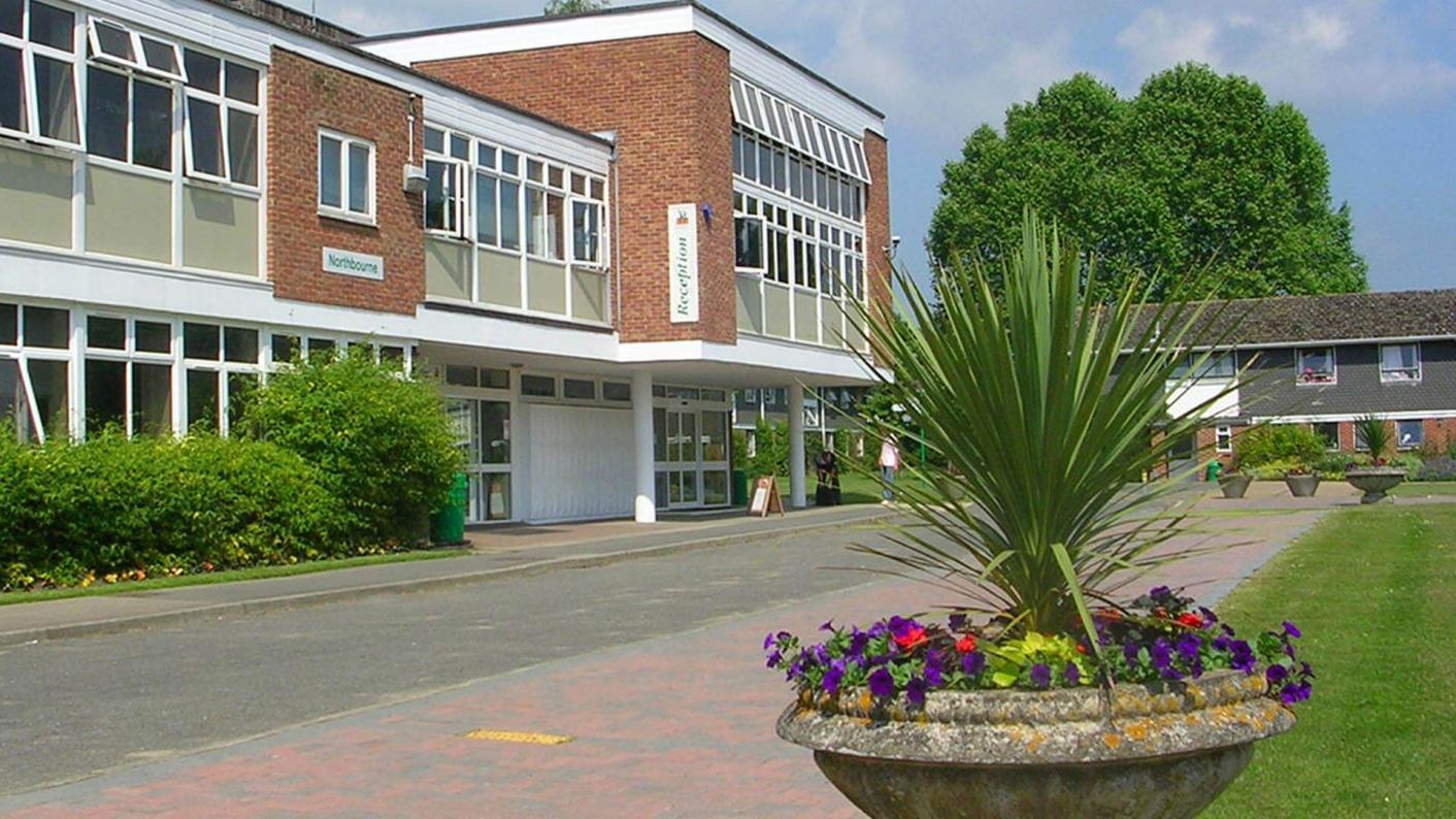 Hadlow College, the first college to enter education administration, has been found to be making 'reasonable progress' by Ofsted