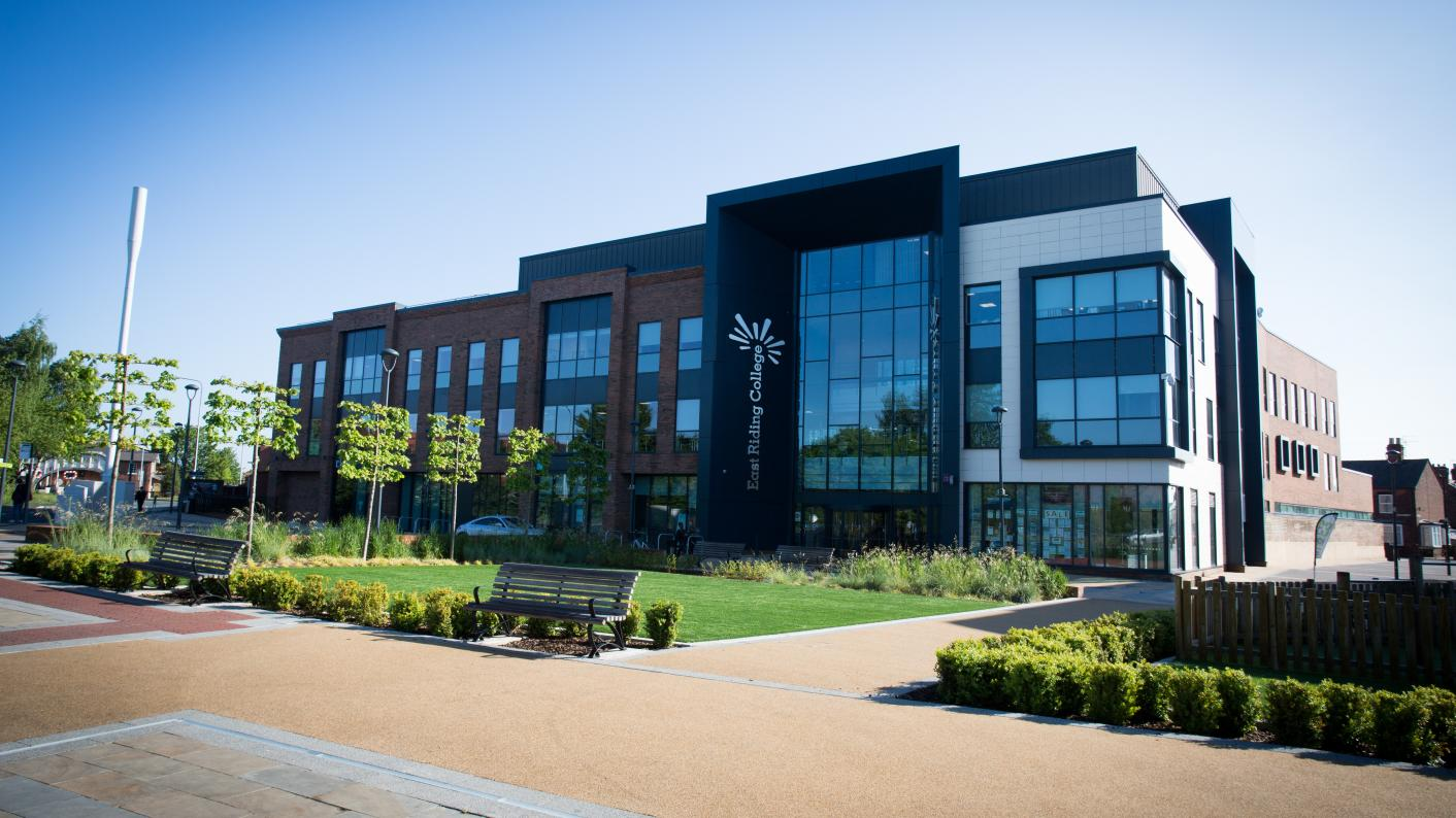 East Riding College has announced plans to join the TEC Partnership, formerly the Grimsby Institute