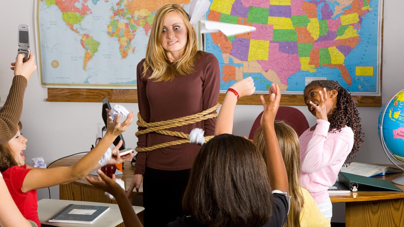 Behaviour in schools: How a teacher can regain control of a class
