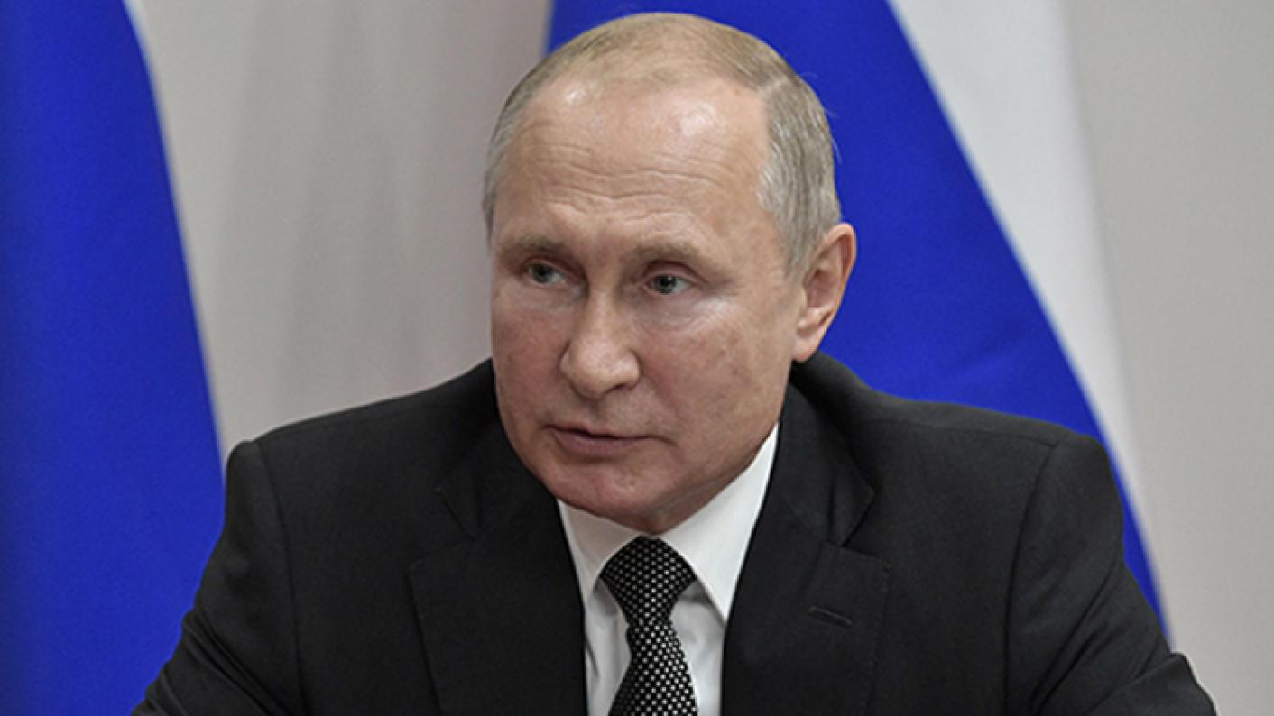 Vladimir Putin, pictured at WorldSkills2019 opening ceremony, has given his backing to lifelong learning