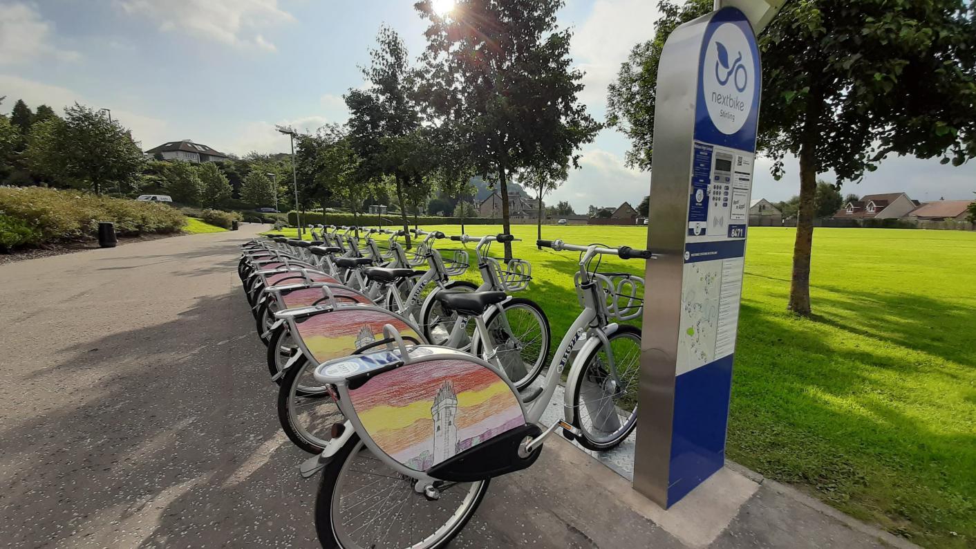 School bike-share scheme for pupils is a 'UK first'