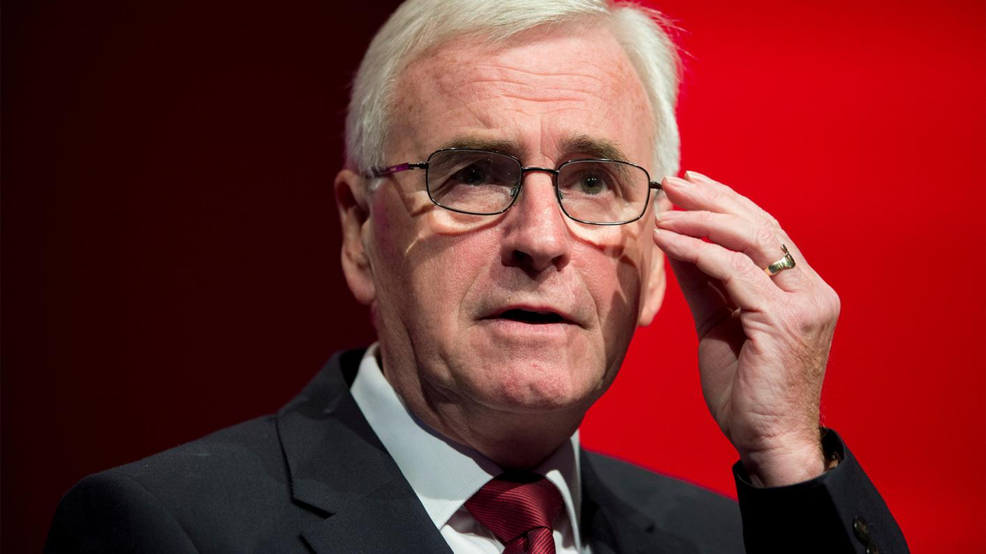 Shadow chancellor John McDonnell has urged students to mobilise on climate change